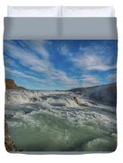 Gulfoss. Duvet Cover