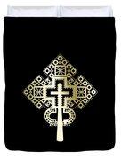 Habesha Holy Cross Duvet Cover