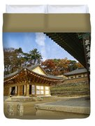 Haeinsa Buddhist Temple Duvet Cover