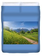 Halfway To Paradise  Duvet Cover