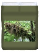 Hall Of Mosses - Hoh Rain Forest Olympic National Park Wa Usa Duvet Cover