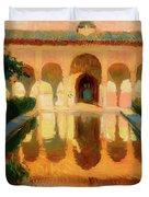 Hall Of The Ambassadors -  Alhambra Granada Duvet Cover