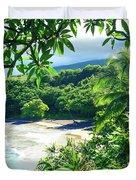 Hamoa Beach Hana Maui Hawaii Duvet Cover