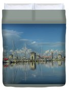 Harbor Morning Duvet Cover