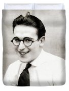 Harold Lloyd, Legend Of The Silver Screen Duvet Cover