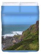 Hartland Point - England Duvet Cover