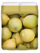 Harvested Lemons Duvet Cover