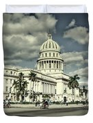 Havana National Capitol Duvet Cover