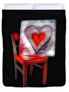 Heart Int Heart Duvet Cover