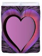 Heart Shape Duvet Cover