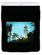 Heceta Lighthouse Duvet Cover