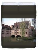 Heilig Geist Spital - Nuremberg Duvet Cover