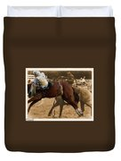 Helluva Rodeo-the Ride 6 Duvet Cover