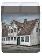 Helsingor Old Building Duvet Cover