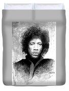 Hendrix Portrait Duvet Cover