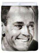 Henry Fonda, Hollywood Legend Duvet Cover