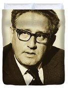 Henry Kissinger 1976 Duvet Cover