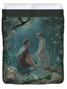 Hermia And Lysander Duvet Cover