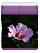Hibiscus Light Duvet Cover