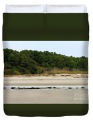Hilton Head Island Shoreline Duvet Cover