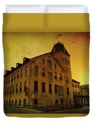 Historic Fox River Mills Duvet Cover
