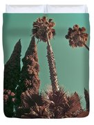 Hollywood And Vine Duvet Cover