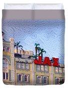 Home Of Jax Beer Duvet Cover