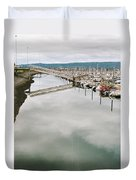 Homer Boat Ramp Duvet Cover