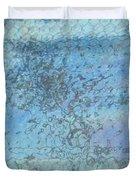 Honeycomb Glass Duvet Cover