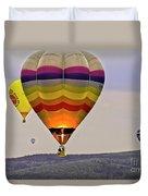Hot-air Balloning Duvet Cover by Heiko Koehrer-Wagner