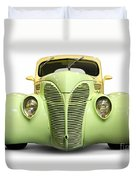 Hot Rod Ford Coupe 1938 Duvet Cover