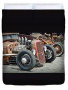 Hot Rods Duvet Cover by Steve McKinzie