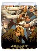 Houdini In The Grim Game 1919 Duvet Cover
