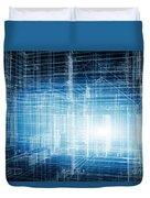 House 3d Project Duvet Cover
