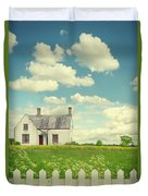 House In The Countryside Duvet Cover