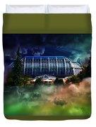 House In The Sky Duvet Cover