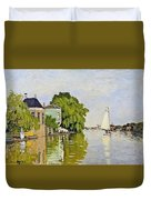 Houses On The Achterzaan Duvet Cover