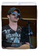 Houston At The Fair Duvet Cover