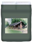 Huffman Log Cabin Duvet Cover
