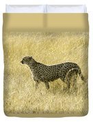 Hunting Cheetah Duvet Cover
