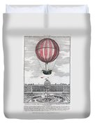 Hydrogen Balloon, 1783 Duvet Cover
