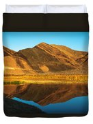 Ibex Hills Reflection Duvet Cover