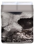 Ice And Sparkling Water Duvet Cover