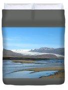 Iceland Landscape Duvet Cover