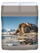 Icy Water Duvet Cover
