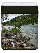 Idaho Lake Duvet Cover