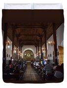 Iglesia Nuestra Senora De La Asuncion Ahuachapan Duvet Cover