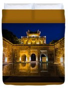 Imperial Citadel Of Hanoi Duvet Cover