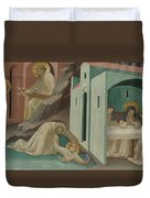 Incidents In The Life Of Saint Benedict Duvet Cover