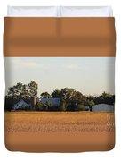 Indiana Farmland  Duvet Cover
